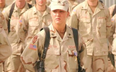 SFC Leigh Ann Hester, U.S. Army (2001-Present) – Silver Star Recipient