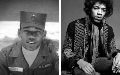 PVT Jimi Hendrix, U.S. Army (1961-1962)