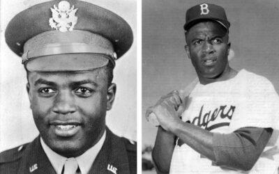 """2LT Jack """"Jackie"""" Robinson, U.S. Army (1942-1944)"""