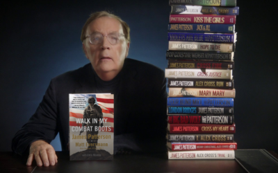 James Patterson Teams Up With an Army Legend for the 'Most Important' Work of His Career