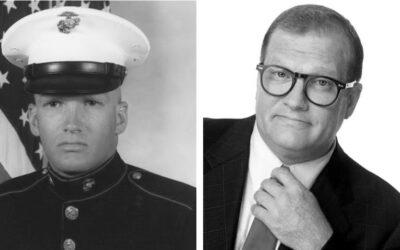Sgt Drew Carey, U.S. Marine Corps (1980-1986)