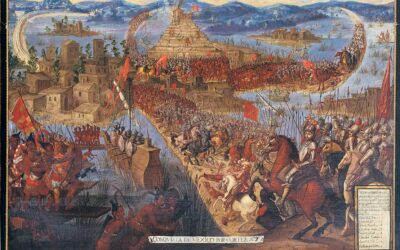 The Fall Of The Aztecs (1521)