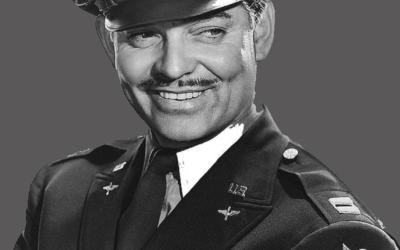 Maj Clark Gable, US Air Force (1942-1947)